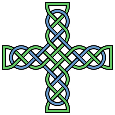 400x400 Simple Celtic Cross Clip Art Clipart Panda