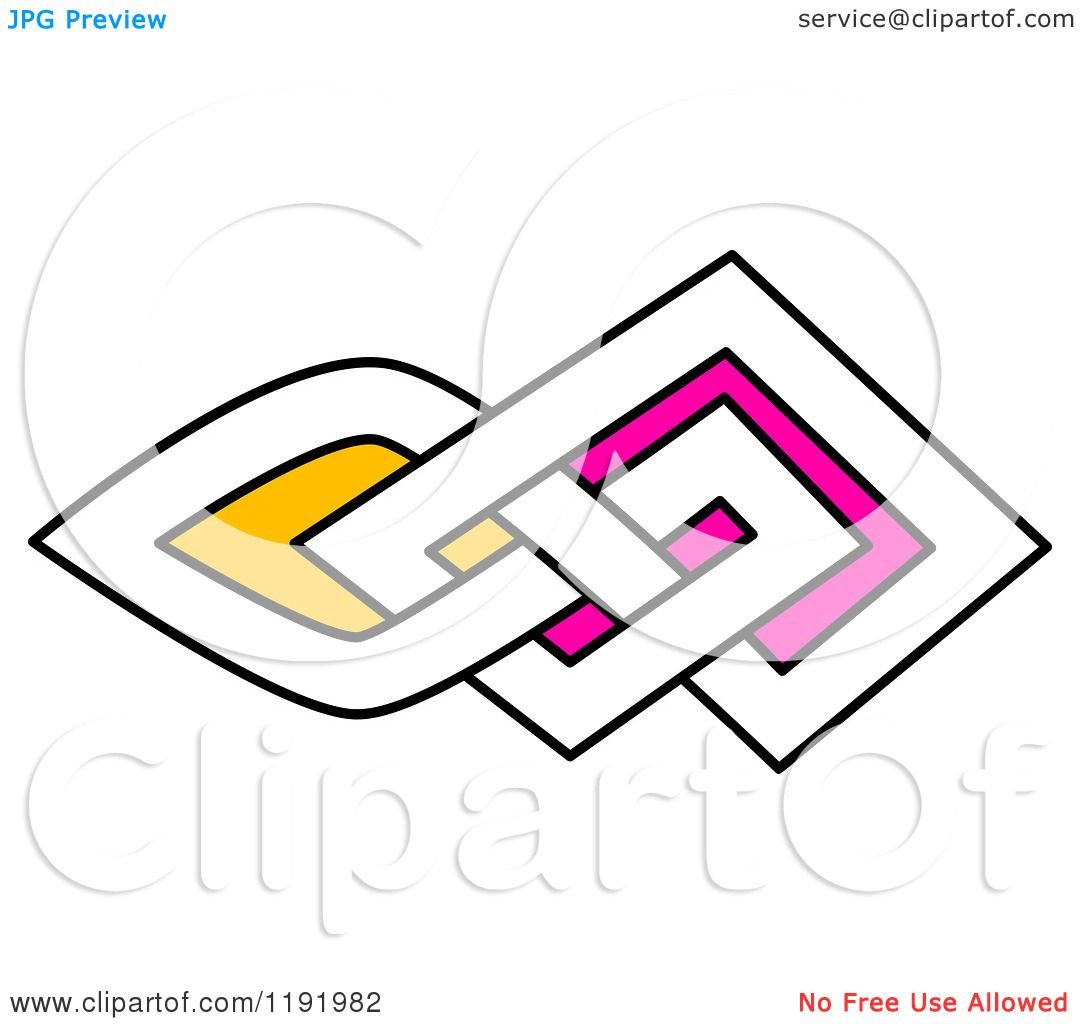 1080x1024 Clipart Of A Colorful Celtic Knot Design Element 4