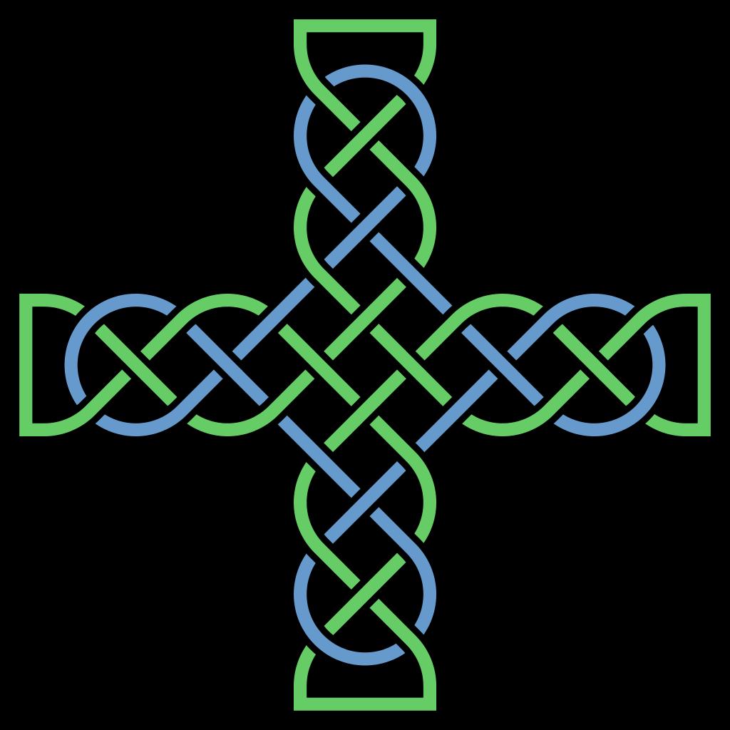 1024x1024 Fileknotwork Cross Multicolored.svg