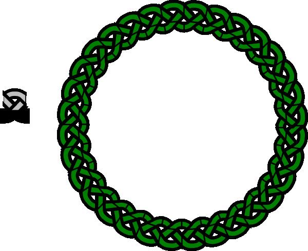 600x489 Green Celtic Knot Svg Clip Arts Download