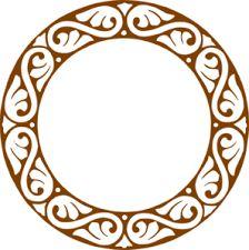 224x225 Rope Border Circle Clip Art Design Ideas Clip Art