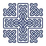 150x150 Celtic Cross Symbol Royalty Free Vector Clip Art Image