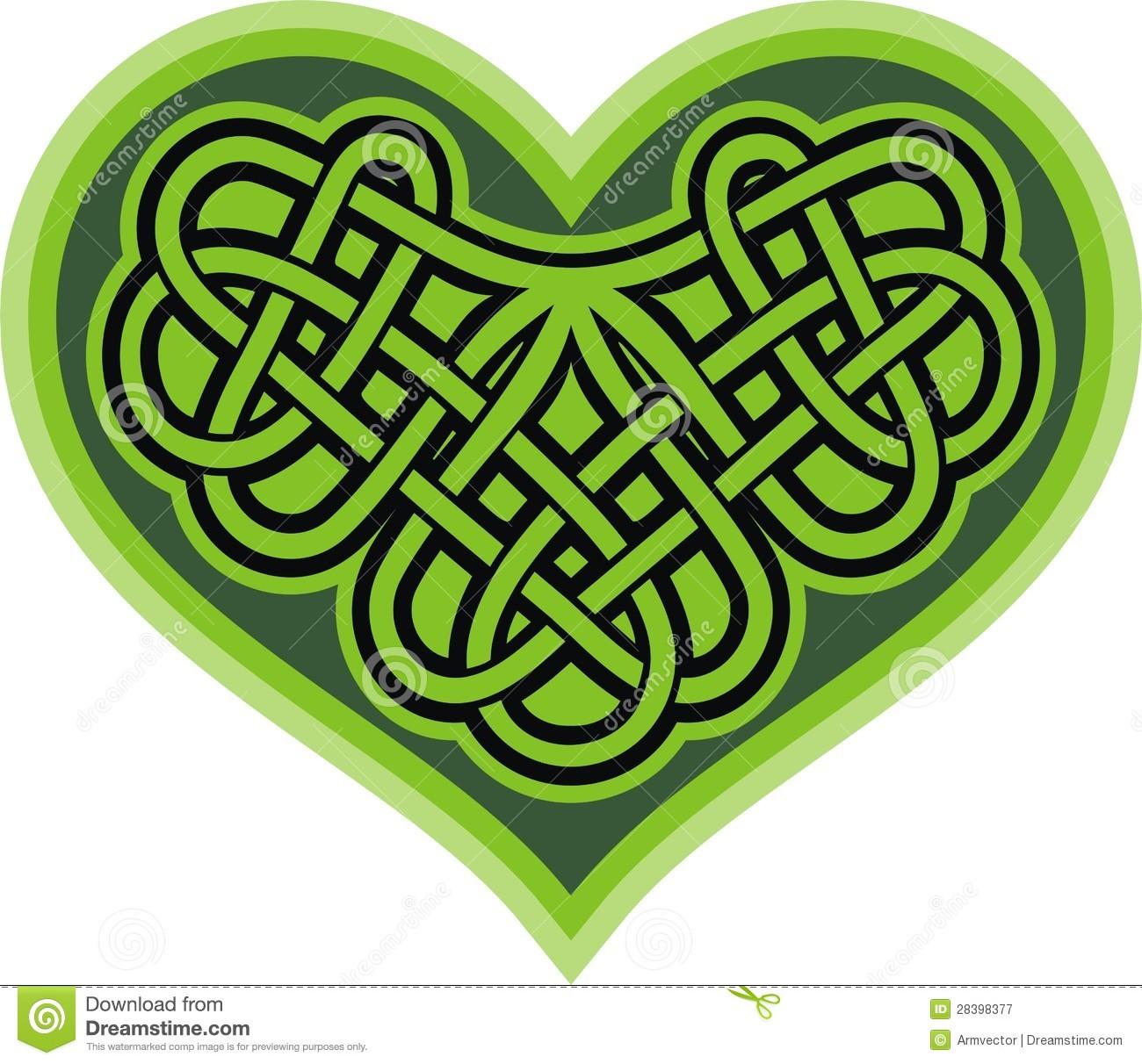 1300x1212 Celtic Hearts Clipart