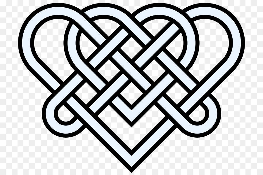 900x600 Celtic Knot Heart Endless Knot Clip Art