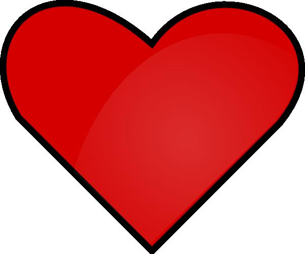 600x499 Small Heart Clipart
