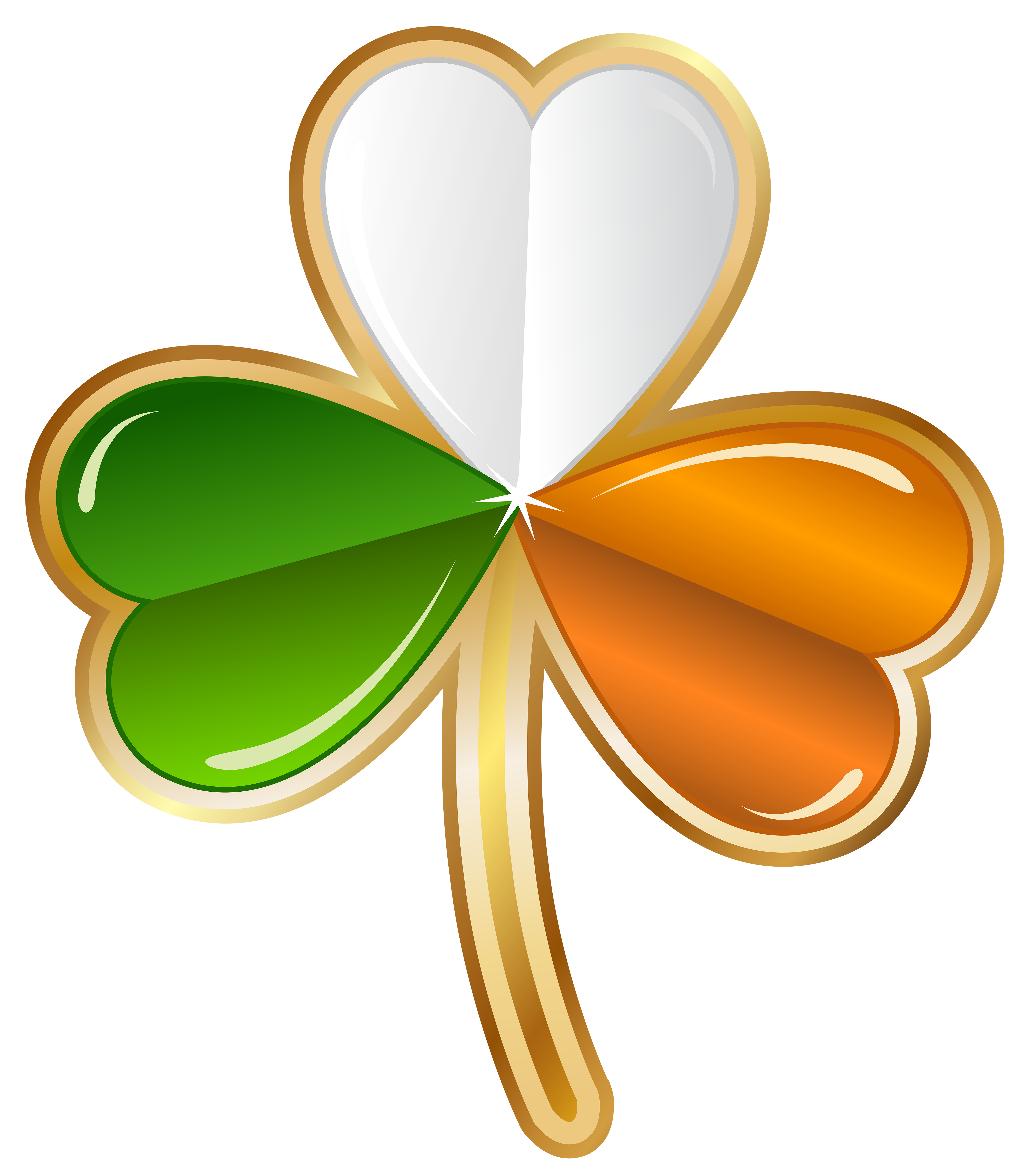 5000x5678 Collection Of Irish Clover Clipart High Quality, Free