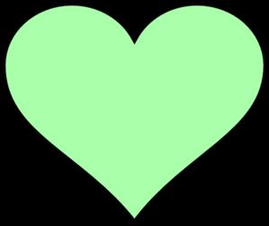 299x252 Bigger Green Heart Clip Art