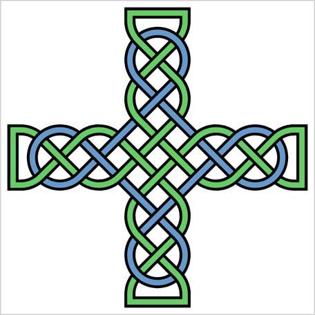 456x456 Black Celtic Cross Clip Art Clipart Panda