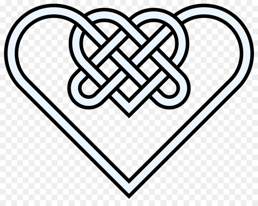 900x720 Celtic Knot Celts Heart Clip Art