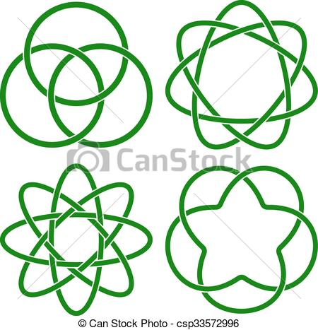 450x467 Vector Illustration Of Celtic Knots Eps Vectors