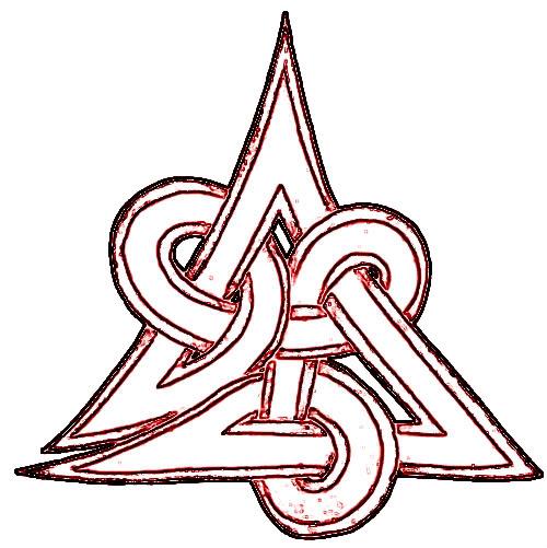 500x501 Celtic Knot Tattoo Design Stencil
