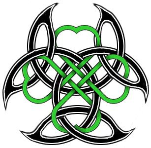 307x300 More Like Four Leaf Clover Celtic Tattoo By Airnymphss