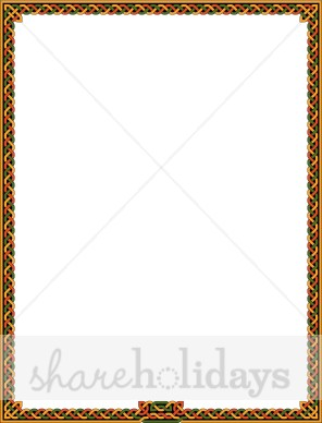 296x388 Collection Of Celtic Knot Border Clipart High Quality, Free