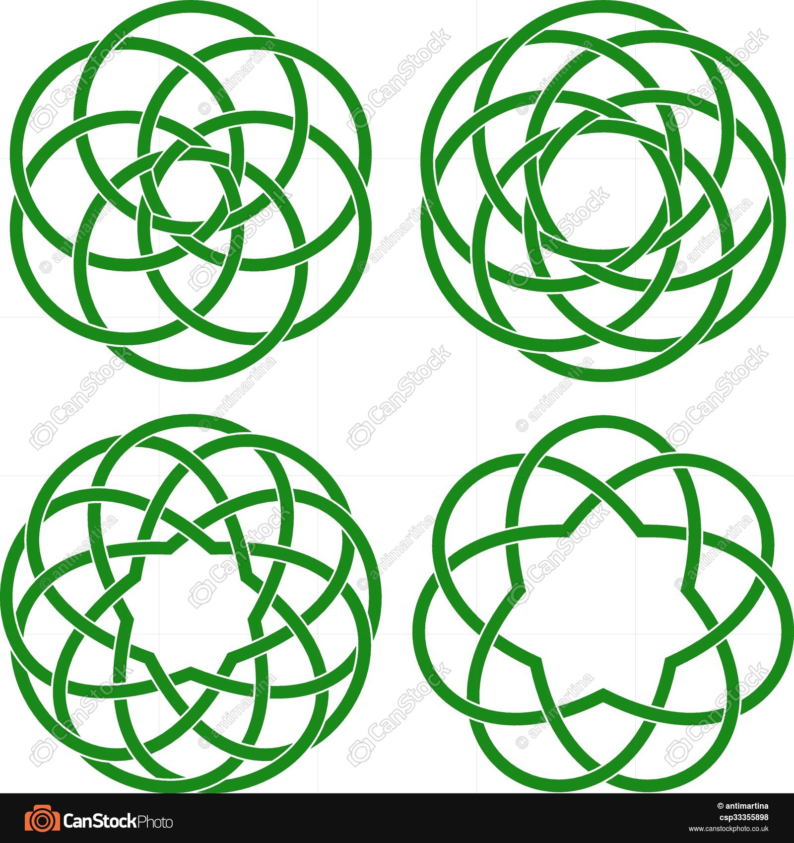 1600x1697 Vector Illustration Of Celtic Knots Eps Vectors