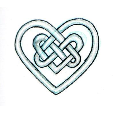 400x400 Celtic Heart Designs Clip Art