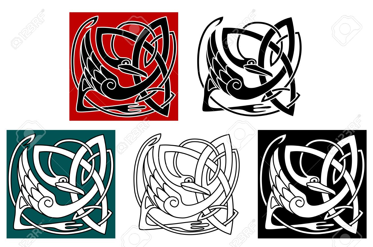 1300x863 Clip Art Celtic Animals