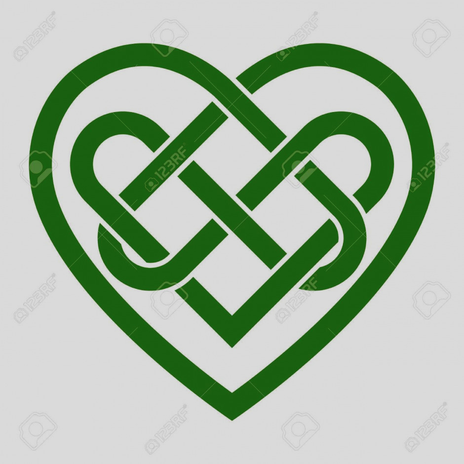 940x940 Amazing Of Celtic Clip Art Knot And Irish Shamrock Transparent Png