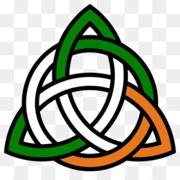 260x260 Celtic Knot Trinity Irish People Clip Art