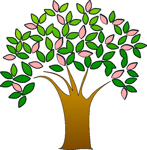588x599 Tree Clip Art