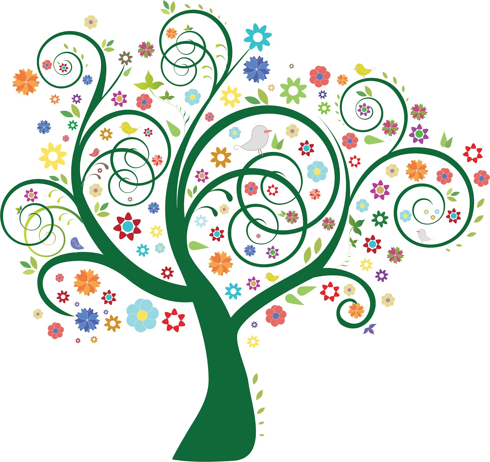 1600x1510 Whimsical Tree Cliparts 101 Clip Art