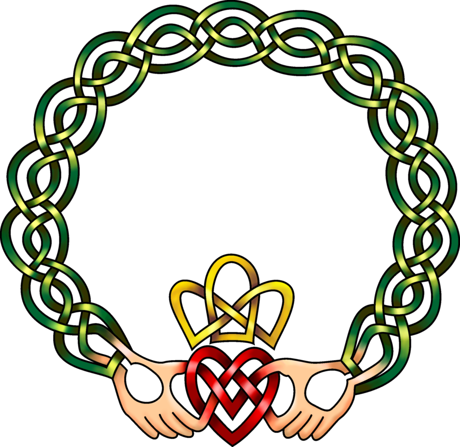 900x876 Celtic Knot Clipart Claddagh Ring