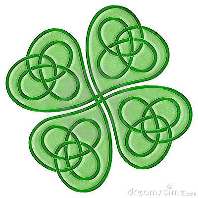 400x399 Celtic Knot Clipart Four Leaf Clover