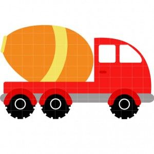 300x300 Cement Truck And Lots Of Clip Art Free Printables