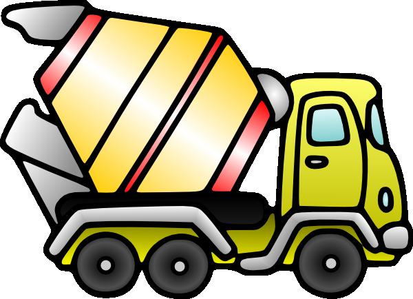 600x434 Mixer Truck Clip Art At Clker Com Vector Clip Art Online Royalty