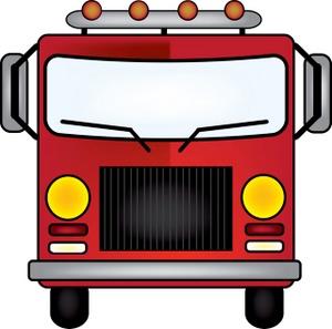 300x297 Cartoon Truck Clipart