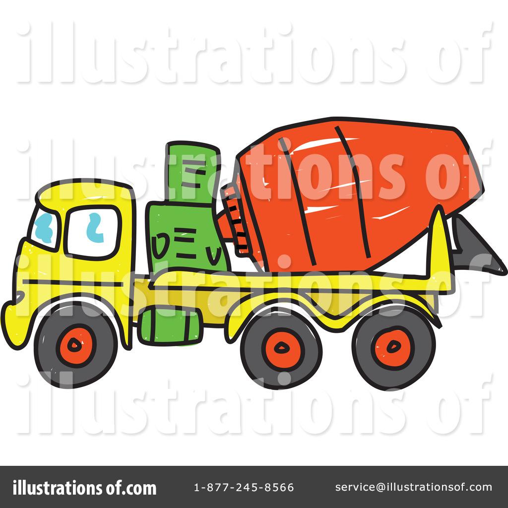 1024x1024 Cement Mixer Clipart