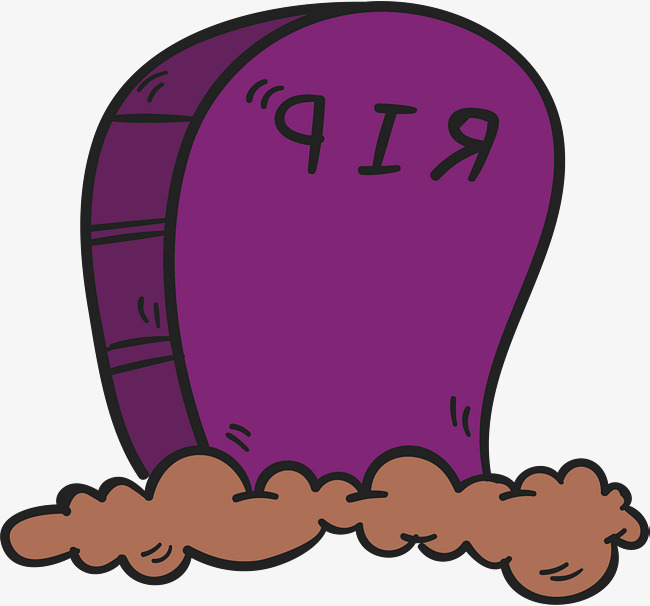 650x606 Purple Cartoon Cemetery, Vector Png, Cemetery, Grave Png