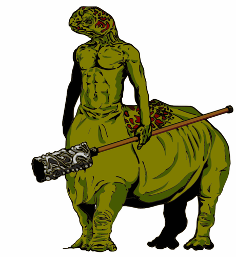 460x500 Turtle Centaur Public Domain Vectors