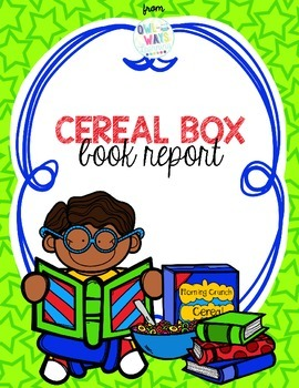 270x350 Cereal Box Book Report By Kristina Lovell Teachers Pay Teachers