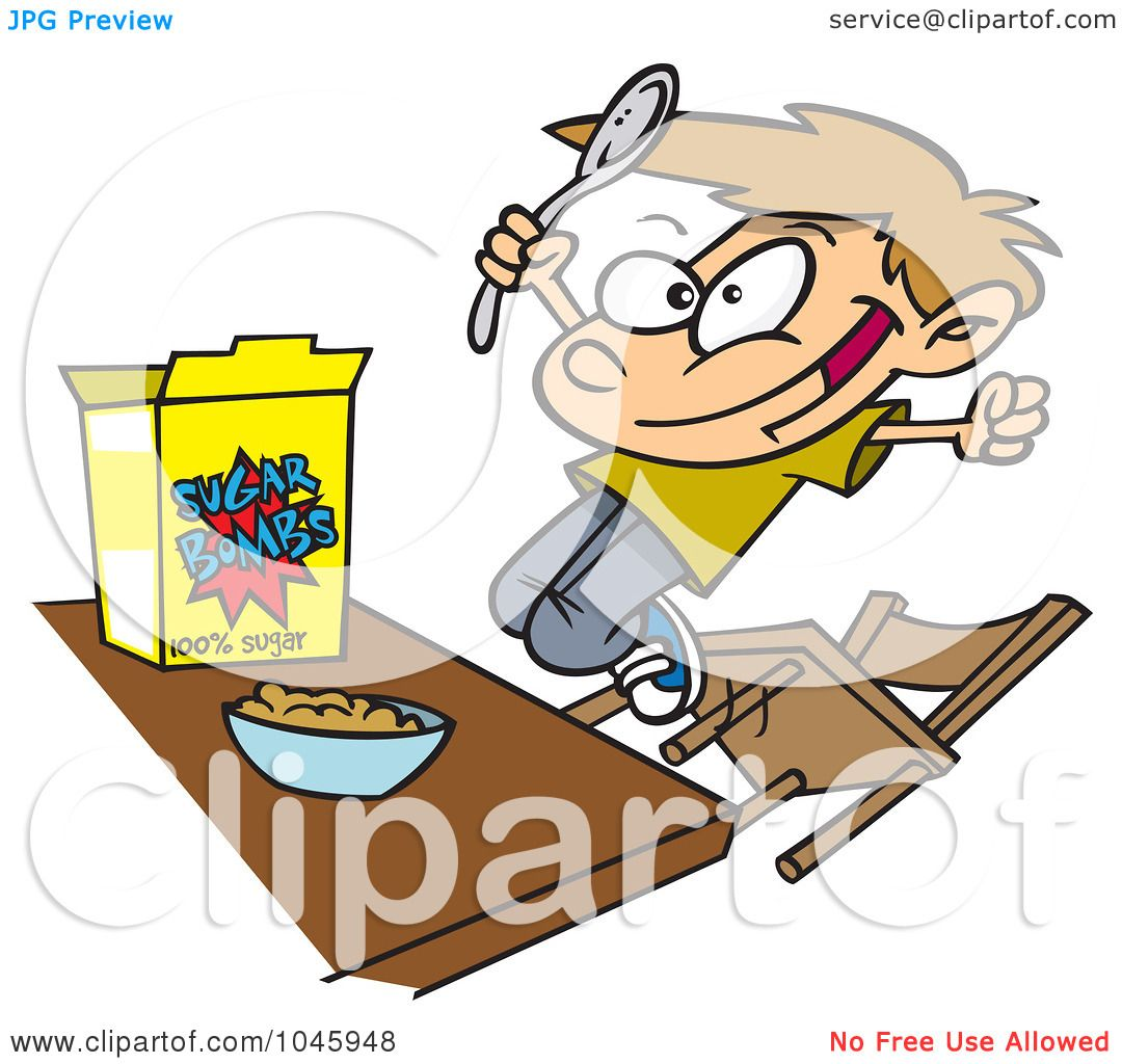1080x1024 Cereal Clipart Boy Eating