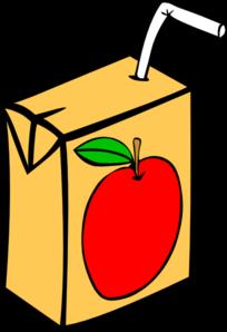 204x298 Apple Juice Box Clip Art