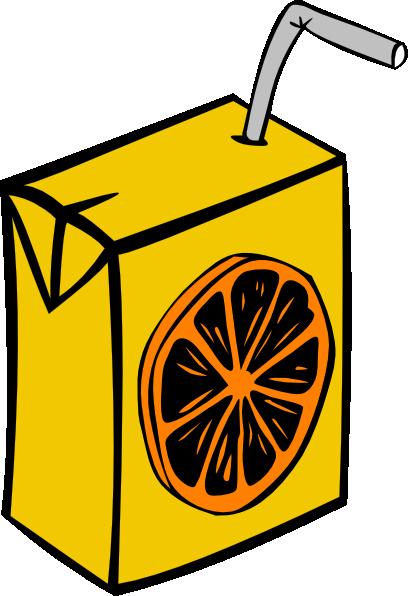 408x596 Orange Juice Box Clip Art Free Vector 4vector