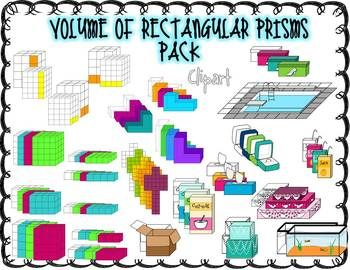 350x270 Volume Of Rectangular Prisms Clip Art Clip Art, Math And School