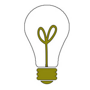 300x300 Bulb Clipart Moving Light
