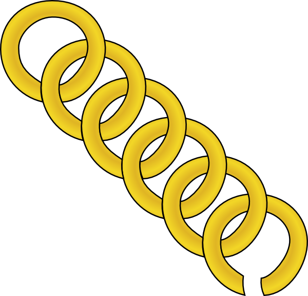 600x576 Links Clip Art. Gold Chain Clipart Panda