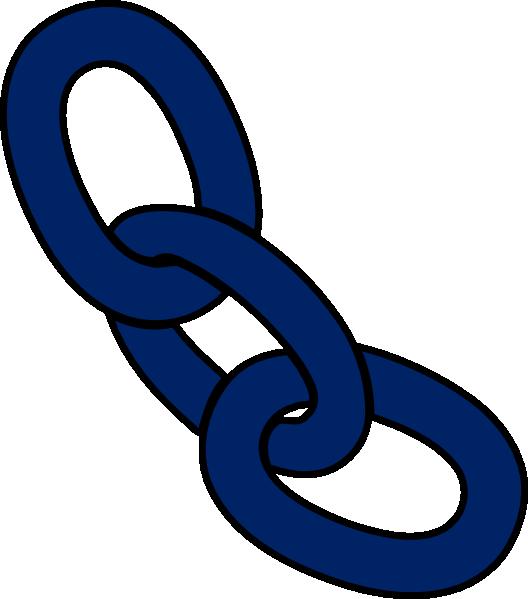 528x599 Royal Blue Chain Clip Art