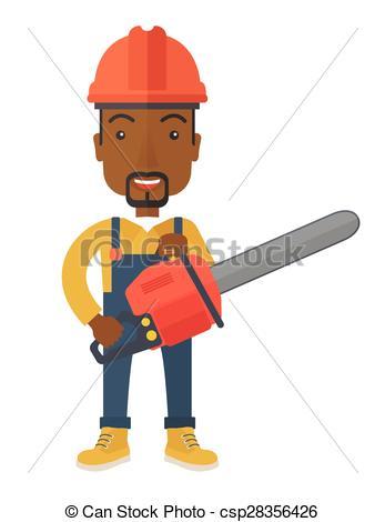 347x470 Chainsaw Clipart Man 3145396