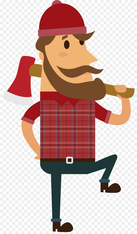 900x1540 Lumberjack Paul Bunyan Clip Art