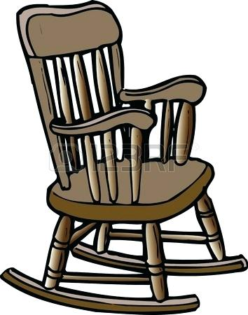 354x450 Rocking Chair Clip Art Rocking Chair Stock Photo Cat On Rocking