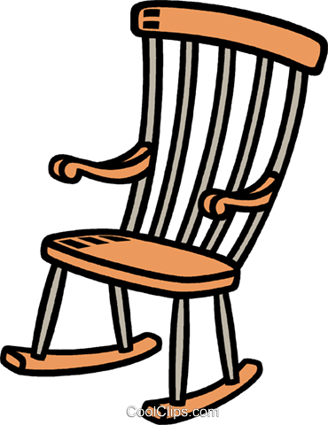 370x480 Brilliant Rocking Chair Clipart And Rocking Chair Royalty Free