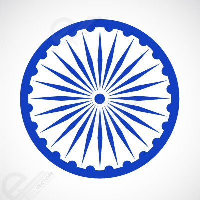 400x400 Free Ashoka Chakra Free Clipart And Vector Graphics