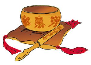 300x214 Singing Bowls Clipart