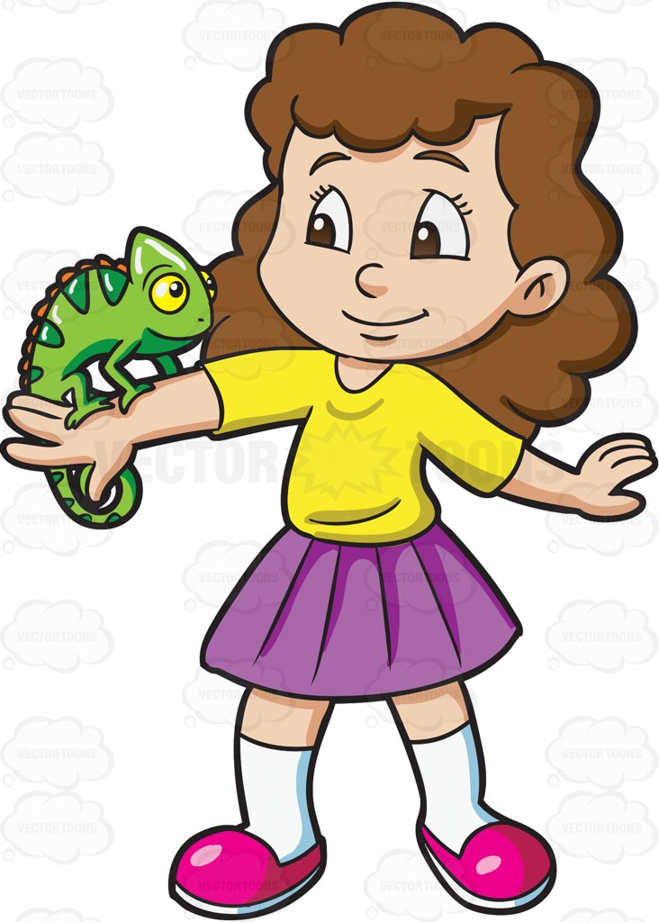 Chameleon Clipart