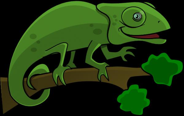 600x378 Lizard Clip Art