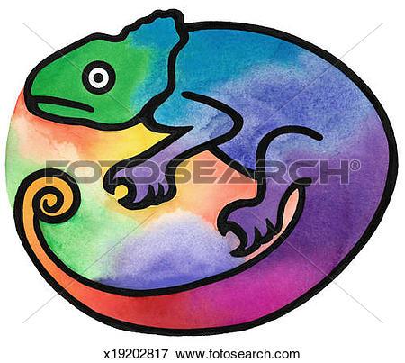 450x403 Top 85 Chameleon Clip Art