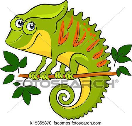 450x427 Best Chameleon Clip Art
